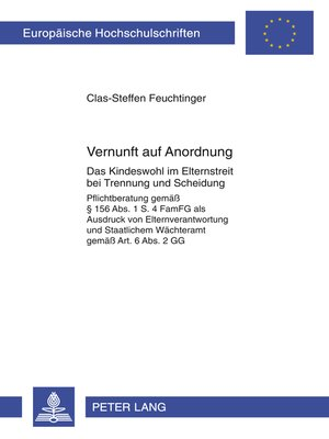 cover image of Vernunft auf Anordnung