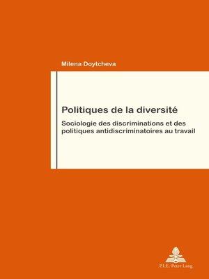 cover image of Politiques de la diversité