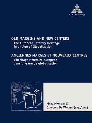 cover image of Old Margins and New Centers / Anciennes marges et nouveaux centres