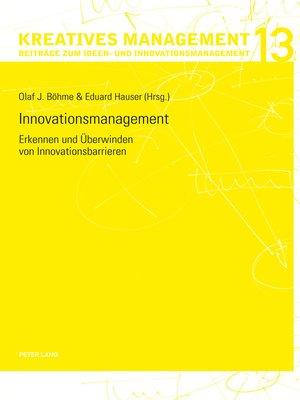 cover image of Innovationsmanagement