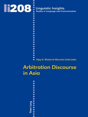 cover image of Arbitration Discourse in Asia