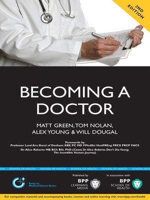 cover image of Becoming a Doctor