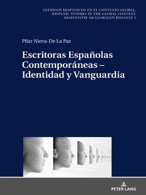 cover image of Escritoras Españolas Contemporáneas  Identidad y Vanguardia