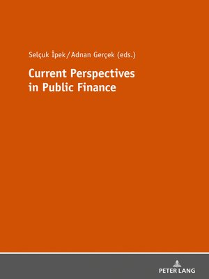 cover image of Current Perspectives in Public Finance