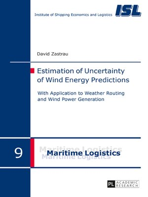 cover image of Estimation of Uncertainty of Wind Energy Predictions