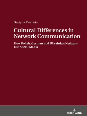 cover image of Cultural Differences in Network Communication