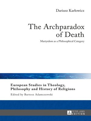 cover image of The Archparadox of Death
