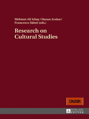 cover image of Research on Cultural Studies