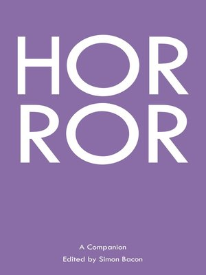 cover image of Horror