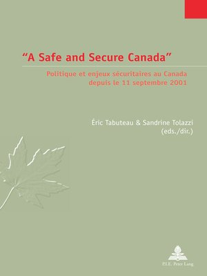 cover image of «A Safe and Secure Canada»