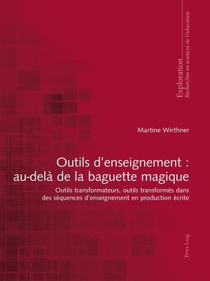 cover image of Outils denseignement