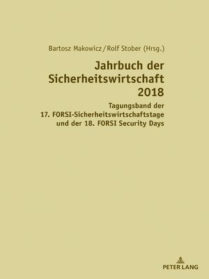 cover image of Jahrbuch der Sicherheitswirtschaft 2018