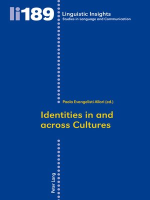cover image of Identities in and across Cultures