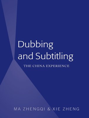 cover image of Dubbing and Subtitling