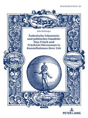 cover image of Aesthetische Erkenntnis und politisches Handeln