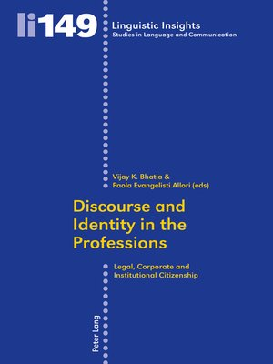 cover image of Discourse and Identity in the Professions