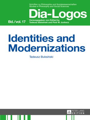 cover image of Identities and Modernizations