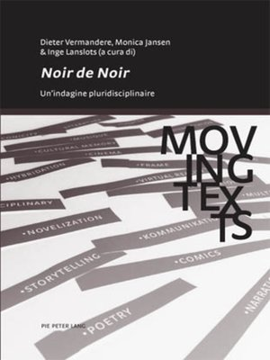 cover image of «Noir de noir»