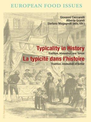 cover image of Typicality in History / La typicité dans lhistoire