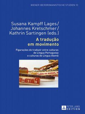 cover image of A tradução em movimento
