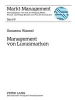 cover image of Management von Luxusmarken