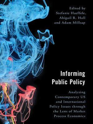 cover image of Informing Public Policy