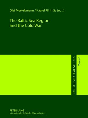 cover image of The Baltic Sea Region and the Cold War