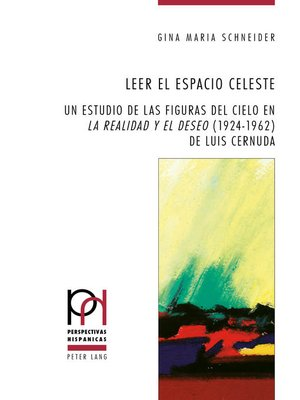 cover image of Leer el espacio celeste