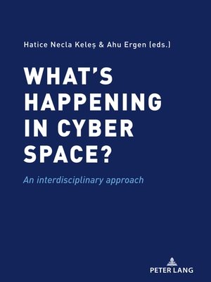cover image of Whats happening in cyber space?
