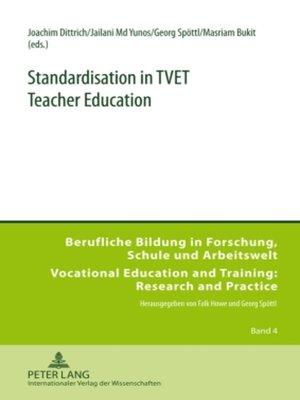 cover image of Standardisation in TVET Teacher Education