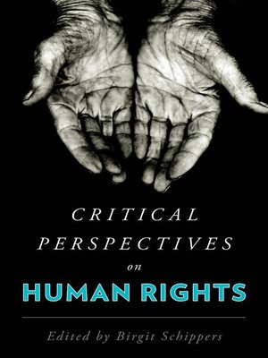 cover image of Critical Perspectives on Human Rights