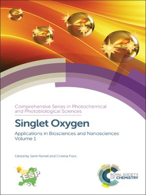 cover image of Singlet Oxygen, Volume 1