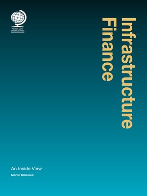 cover image of Infrastructure Finance