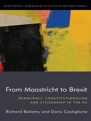 cover image of From Maastricht to Brexit