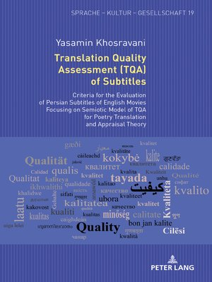 cover image of Translation Quality Assessment (TQA) of Subtitles