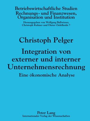 cover image of Integration von externer und interner Unternehmensrechnung