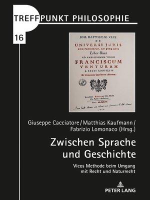 cover image of Zwischen Sprache und Geschichte