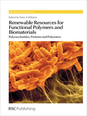 cover image of Renewable Resources for Functional Polymers and Biomaterials
