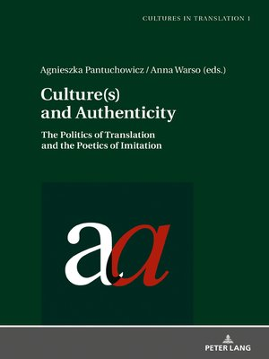cover image of Culture(s) and Authenticity