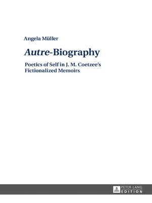 cover image of «Autre»-Biography