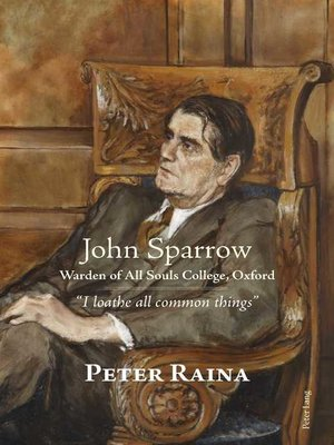 cover image of John Sparrow
