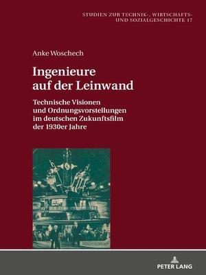cover image of Ingenieure auf der Leinwand