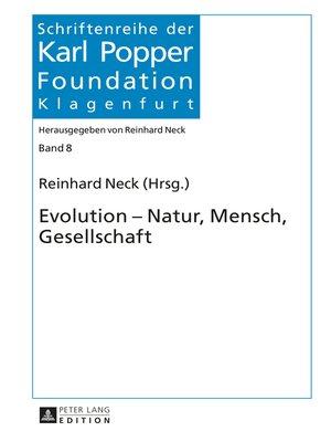 cover image of Evolution  Natur, Mensch, Gesellschaft