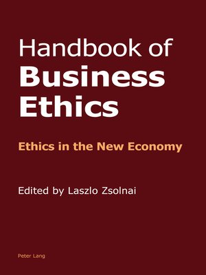 cover image of Handbook of Business Ethics