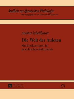 cover image of Die Welt der Auleten