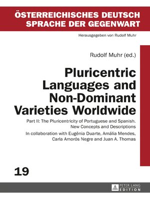 cover image of Pluricentric Languages and Non-Dominant Varieties Worldwide