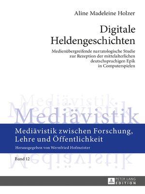 cover image of Digitale Heldengeschichten