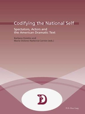 cover image of Codifying the National Self