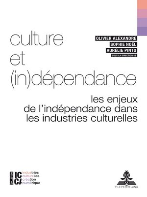 cover image of Culture et (in)dépendance