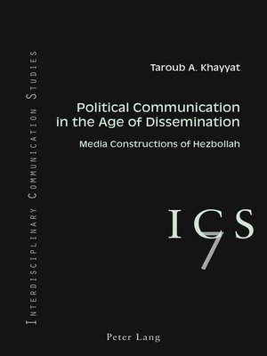 cover image of Political Communication in the Age of Dissemination